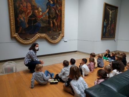Les GS au musée des Beaux Arts