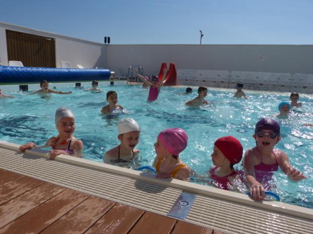 Reprise des séances de piscine