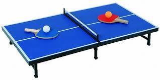Découverte du tennis de table