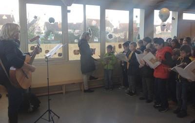 Répétition de chants
