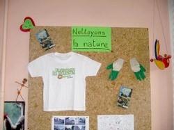 Ecole Sacré Coeur, Ouistreham, Nettoyons la nature !