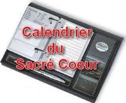 Ecole Sacré Coeur, ouistreham, calendrier