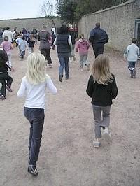 Ecole Sacré Coeur, Ouistreham, Course d'endurance