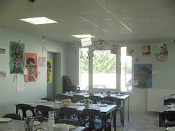 Ecole Sacré Coeur, Ouistreham, La cantine