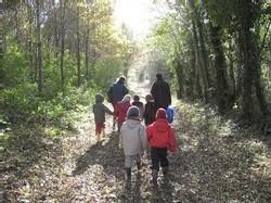 Ecole Sacré Coeur, Ouistreham, sortie au bois du Caprice