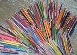 Ecole sacre coeur, Ouistreham, Eventail de couleurs
