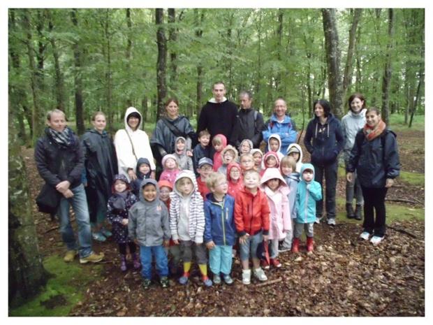 Notre sortie en forêt de Balleroy