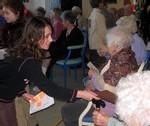Ecole Sacre Ceur, Ouistreham, visite des CM2 au Riva Bel'Age