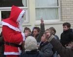 Ecole Sacre Ceur, Ouistreham, visite du Père Noël