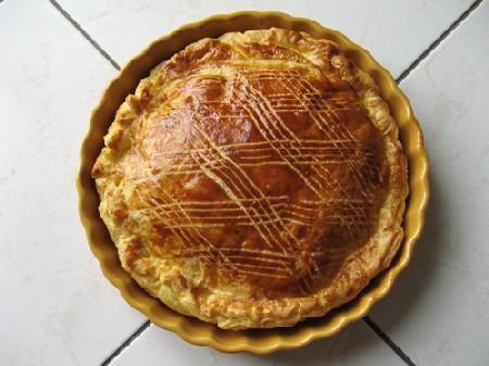 La recette de la galette des Rois.