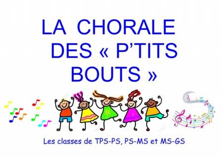 """La chorale des """"P'tits Bouts"""""""