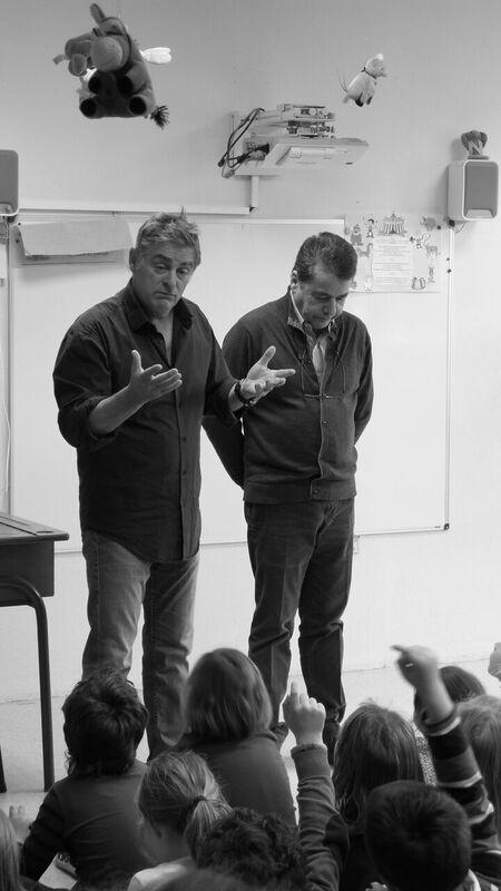 Rencontre avec Olivier Dazat et Pascal Plisson