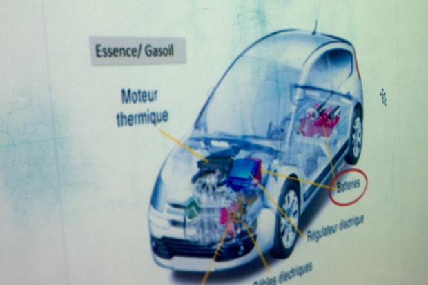 COP 21 la voiture propre fait fureur chez les CM1