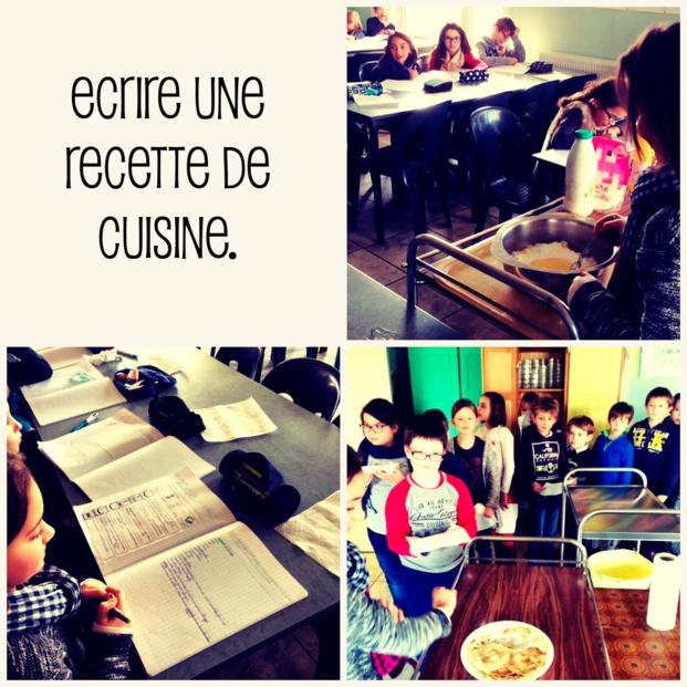 Ecrire la recette de la pâte à crêpes