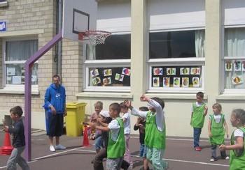 Les séances de basket