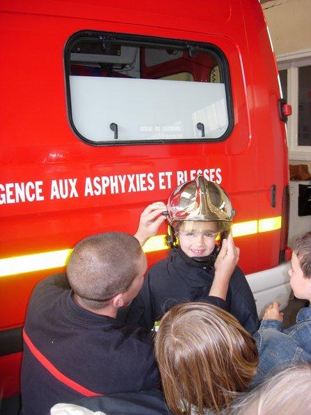 Visite au centre de secours de Ouistreham