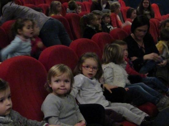 Séance de cinéma pour toutes les classes !