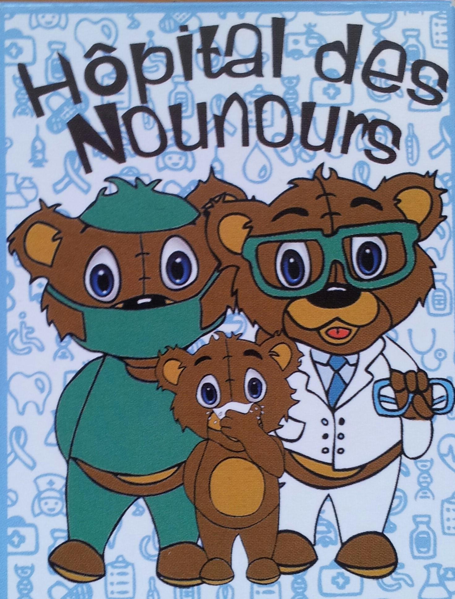 Visite à l'hôpital des nounours