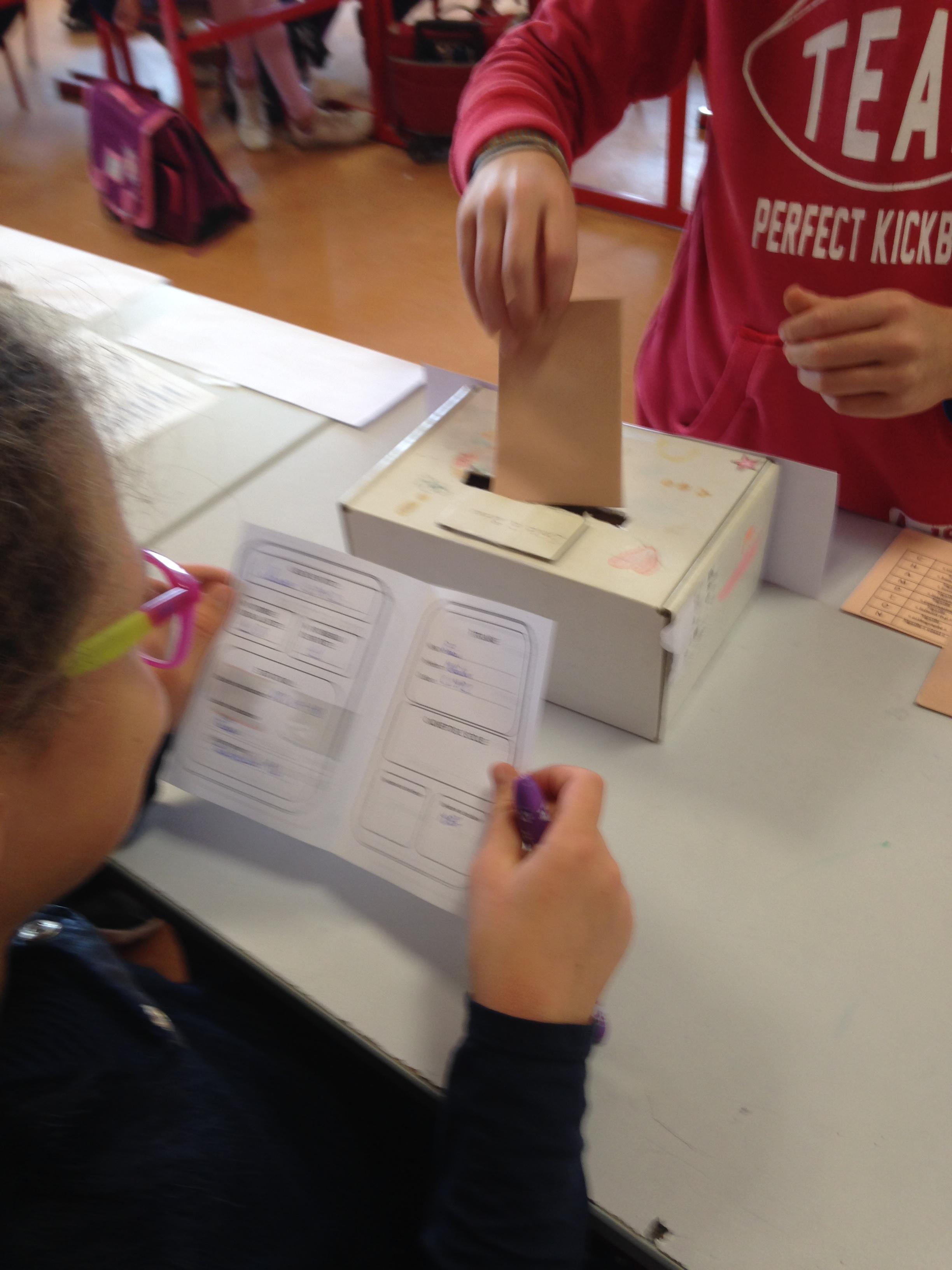 Election des délégués