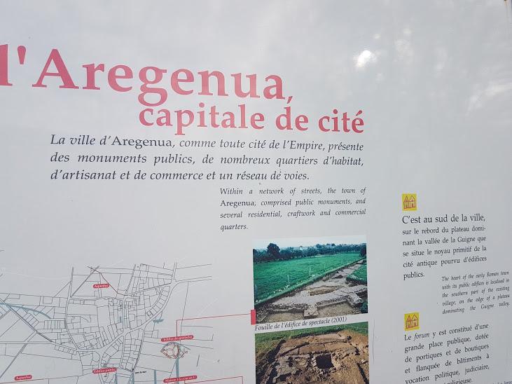 Sortie à Vieux la Romaine des CE2/CM1