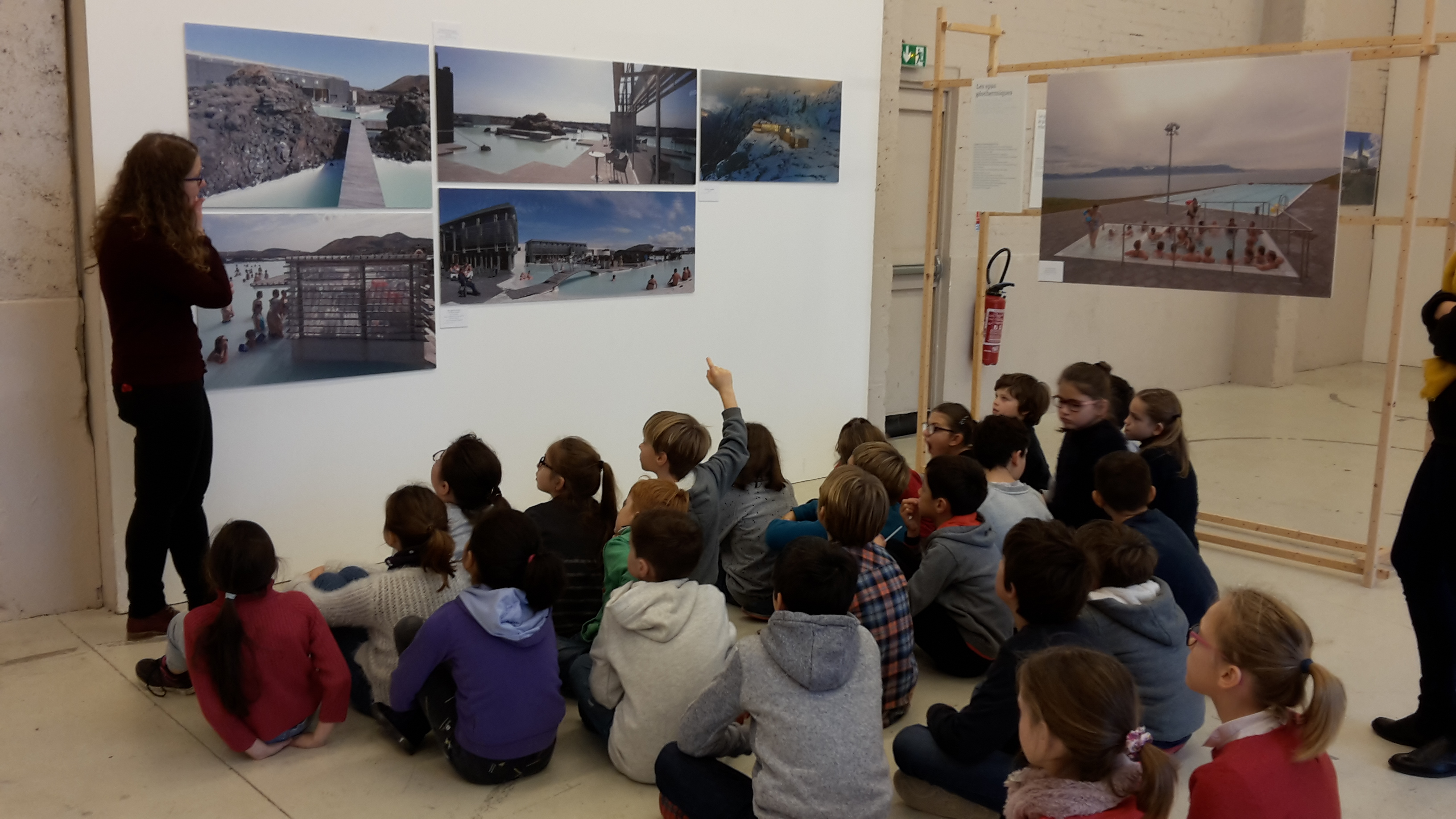 Les CM1 au Pavillon de la Presqu' Ile de Caen