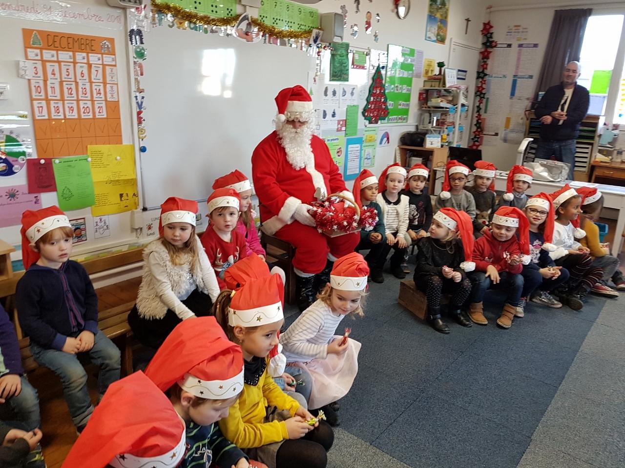 Visite du Père Noël !