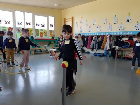 Initiation au tennis pour les Maternelles et les Primaires !