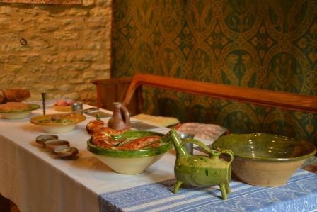Journée médiévale au château de Crèvecoeur-En- Auge pour les CP-CE1