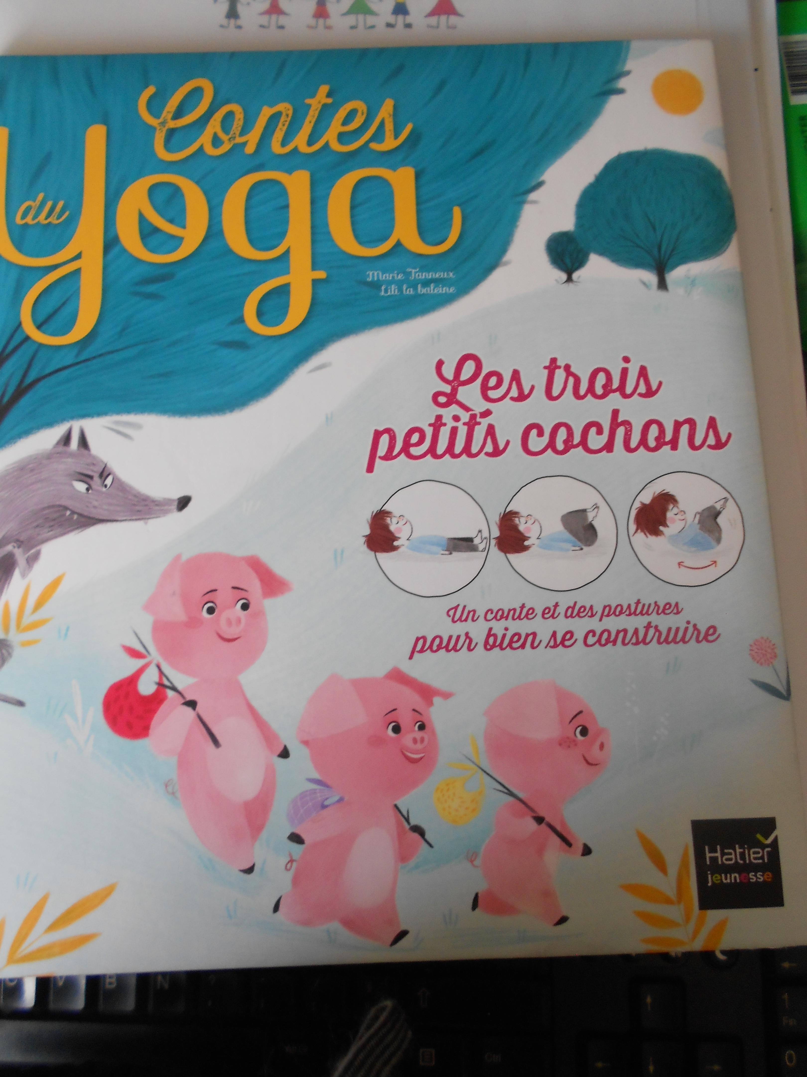 Les PS MS et les 3 petits cochons en yoga