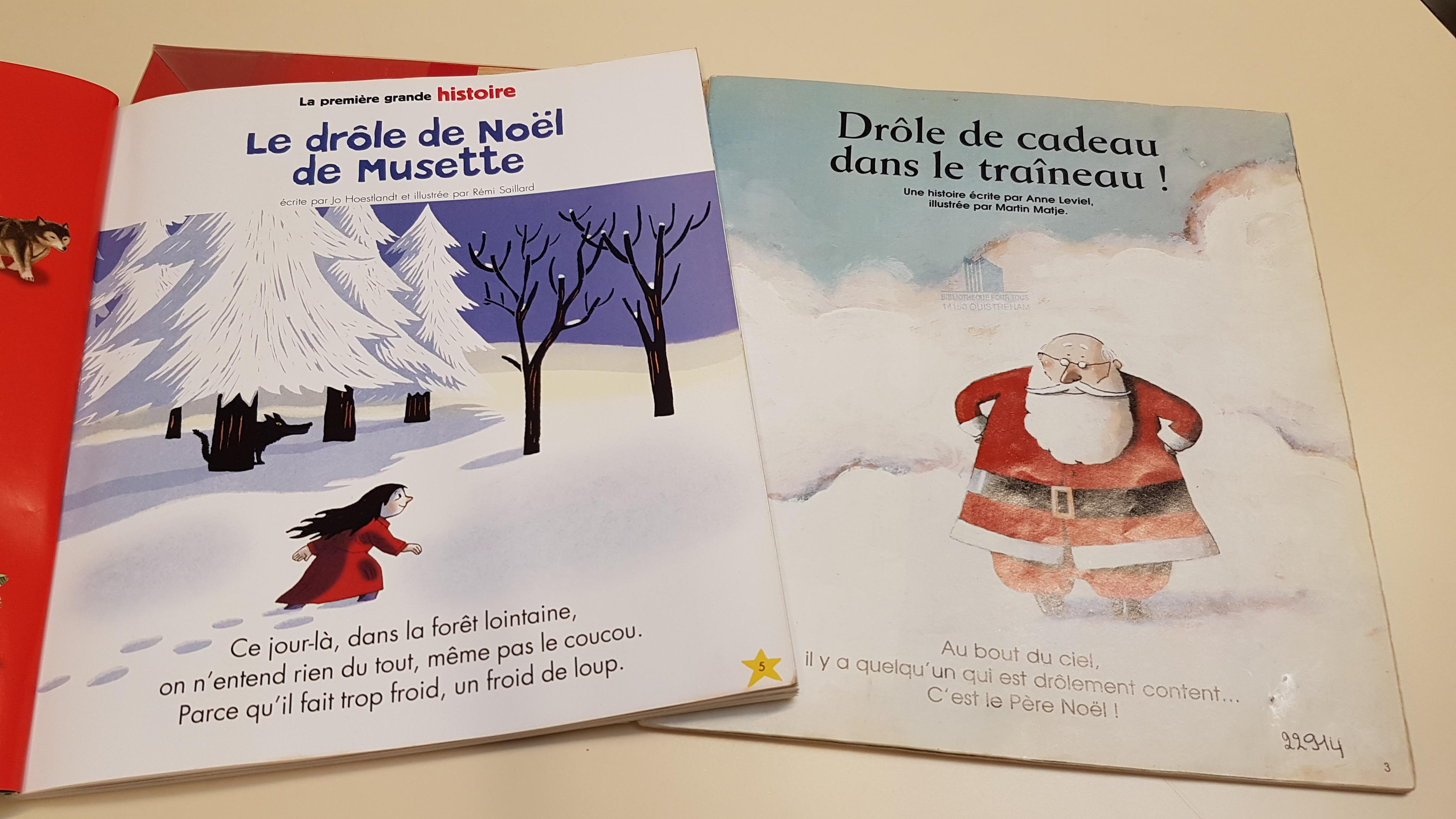 Des histoires de Noël...