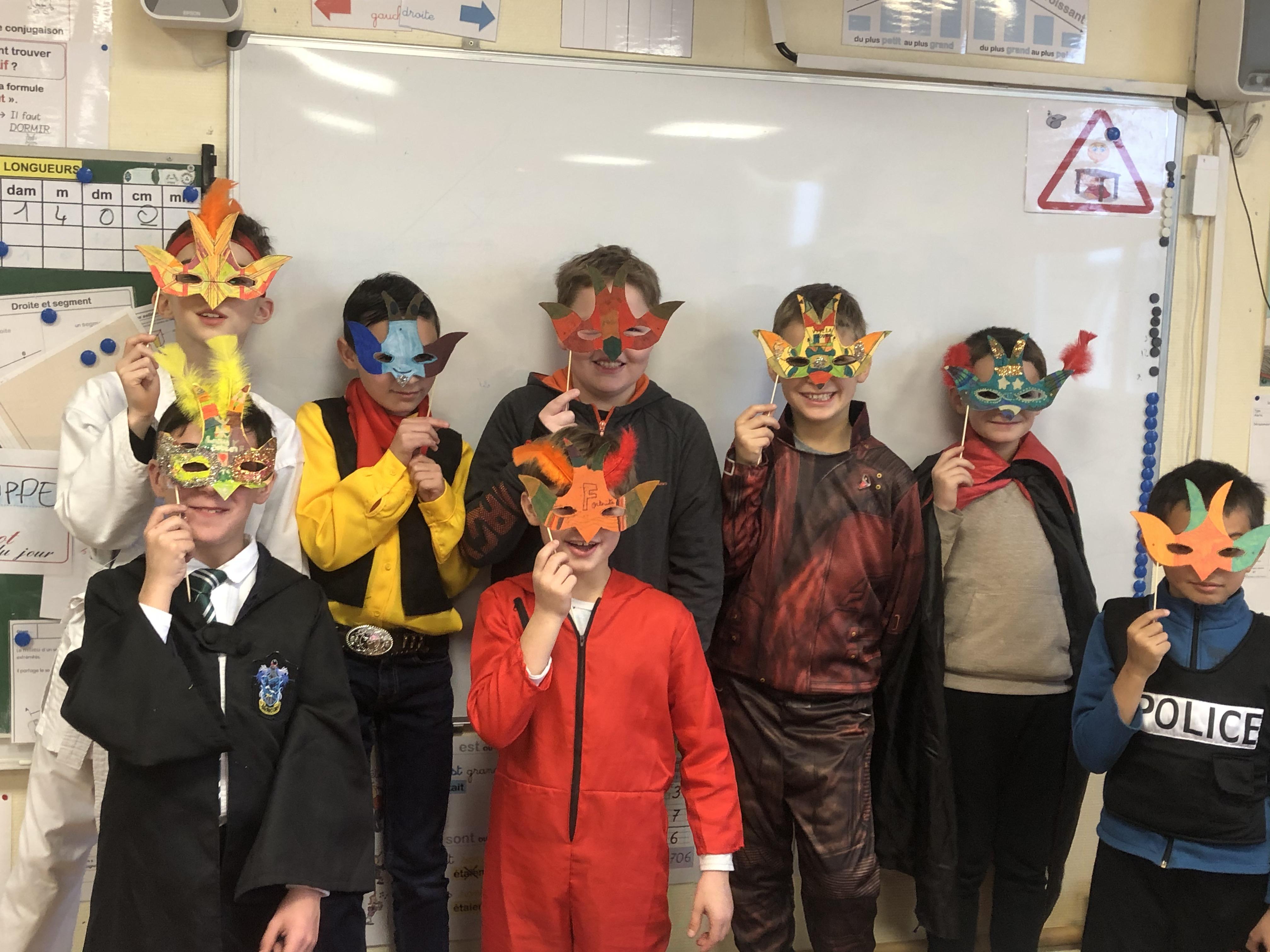 Carnaval à l'école !