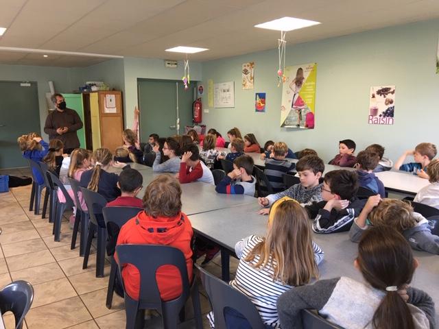 Intervention sur le recyclage des déchets de M.Bernette (Caen la mer)
