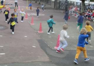 Tous en course en maternelle !