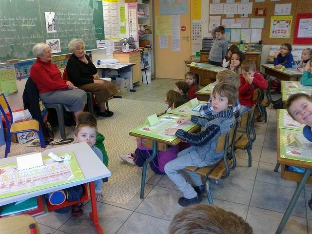 Témoignages sur l'école des années 40