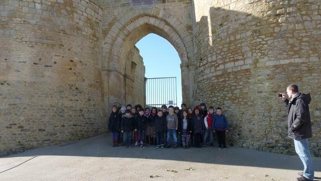 Visite du château de Falaise