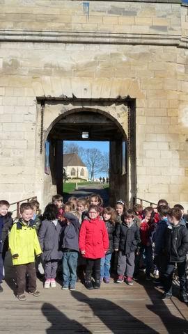Une journée au château de Caen