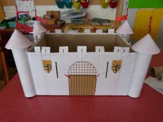 Construction de châteaux forts