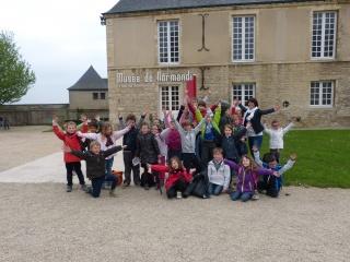 Les CP/CE1 au musée de Normandie et au château de Caen