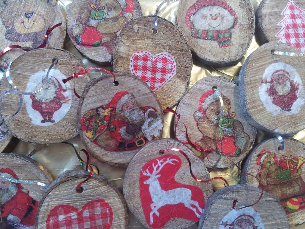 Bricolage pour le marché de Noël