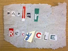 Les GS/CP fabriquent du papier recyclé