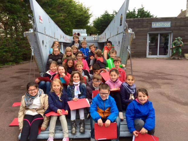 Visite du grand bunker de Ouistreham