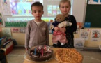 4 bougies de soufflées pour Ewenn et Louis