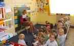 La classe de Petite et Moyenne Section de Maternelle.