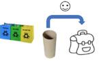 Collecte Rouleaux de papier toilette