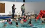 Les séances de piscine