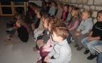 Un spectacle à l'école