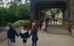 GS/CP visite du château de Crèvecoeur en Auge