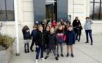 Les CE1/CE2 visitent l'exposition du Pavillon