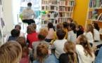 Sortie bibliothèque pour les CE1