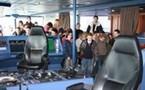 Visite du car-ferry «Le Mont Saint Michel».